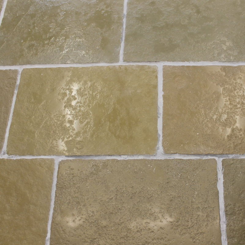 Umbrian limestone floor tiles