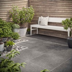 Everglow Slate Black 10mm & 20mm porcelain