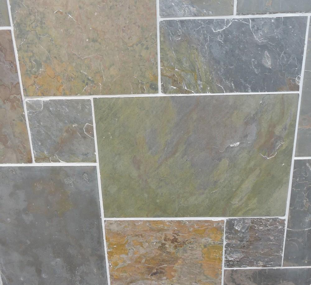 Slate tilesstic riven slate floor tiles tiles flooring green green slate tile flooring gallery dailygadgetfo Gallery